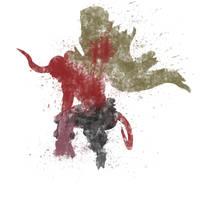 Hellboy Colour Bomb by StevePaulMyers