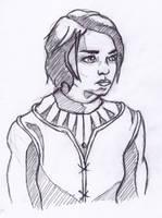 Arya Stark by StevePaulMyers