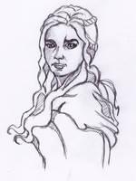 Daenerys Targaryen by StevePaulMyers