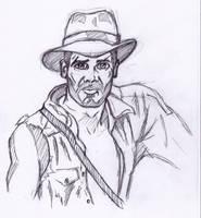 Indiana Jones by StevePaulMyers
