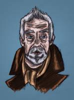 John Hurt Colour by StevePaulMyers
