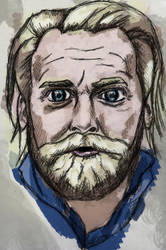 Tony Law Water Colour by StevePaulMyers