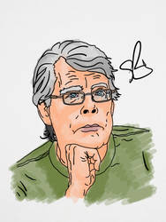 Stephen King by StevePaulMyers