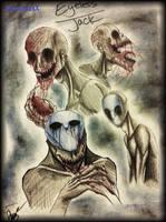 Eyeless Jack doodles -2- by XxLevanaxX