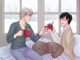 [Yuri On Yuletide] Cocoa Weather by Pochayuuris