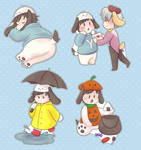 Poyu Stickers [Preorders Closed] by Pochayuuris