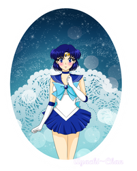 Sailor Moon: The Sailor of Water and Intelligence by Ayachi-chan
