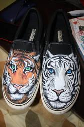 Tiger Kicks by dannyPs-customs