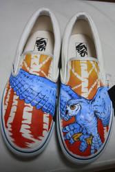 Owl Vans by dannyPs-customs