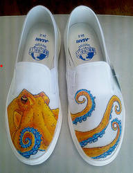 Octo shoes - new color by dannyPs-customs