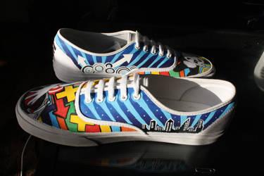 Breakdancing Panda Shoes-Inside by dannyPs-customs