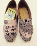 Hand painted Shins  Shoes by dannyPs-customs