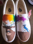 Deer and BlueJay 2 by dannyPs-customs