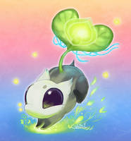 The Tiniest Life Elemental by Caliki