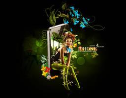 Iphone by Skulls-Black