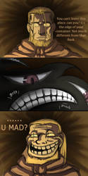 U MAD? by FLASOK