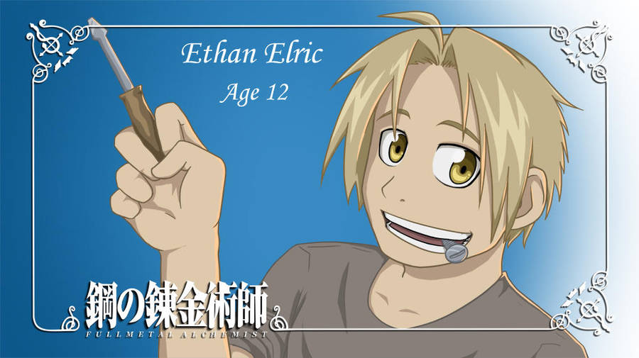 Ethan Elric - Name Card by FLASOK