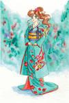 Makoto Kino by IrinaSelena