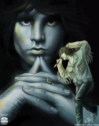 Jim Morrison - The Doors by Chisai-Yokai