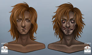Starved Angel - Dylan - Before and After Death by Chisai-Yokai