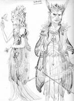 Spiderwick Elves by mizdracona