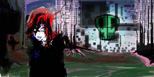 Glitch Witch by deviousxen