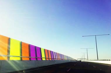 Colour Bridge by NoX-Troniq