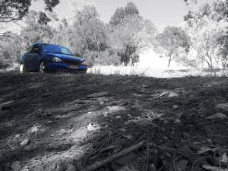 Corsa b on the hill by NoX-Troniq