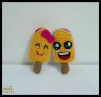 Mango Popsicles Couple by GehadMekki