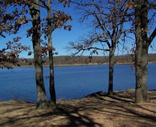post winter lake 2 by dauntiemagic