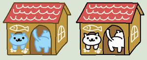 Cat base/lineart - Cat Shop by TheTeChNoCaT