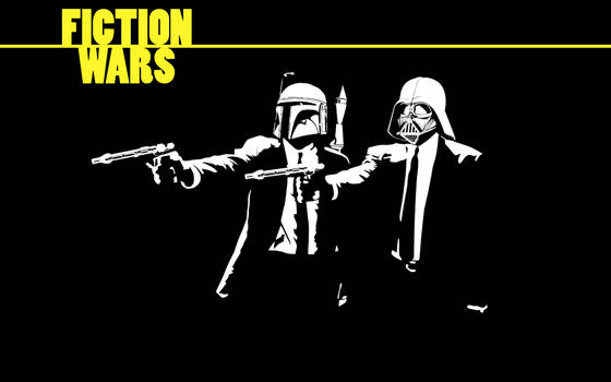 Fiction Wars by The-Blade-Runner