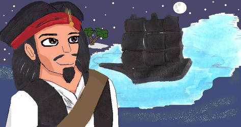 She's his Black Pearl by Moewen