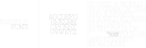 Invisible font by MatyasSvejdik