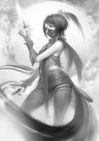 Templar Assassin Dota 2 by plonstudio