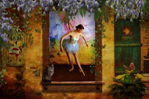 Ballet Studio by PatriciaRodelaArtist