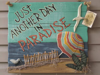 Another Day In Paradise by PatriciaRodelaArtist