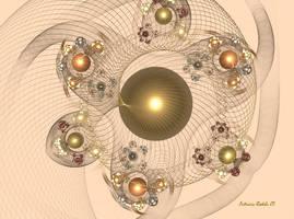 Net of Pearls by PatriciaRodelaArtist