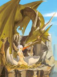 New born Dragon's Child by Intemptesta-Nox