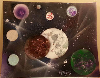 Lunar System by KhaosWolfKat