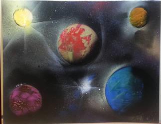 In a Galaxy Not So Far Away by KhaosWolfKat
