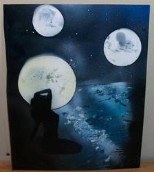 Kajira Under Three Moons by KhaosWolfKat