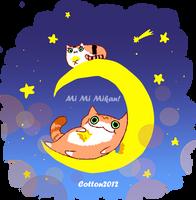 Mi Mi Mikan by cottonchan