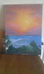 seascape oil painting by david-lover-forever