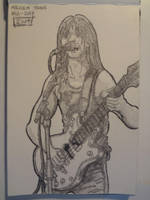 Malcolm Young A5 tribute by shaunC
