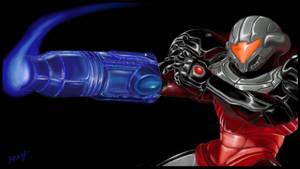 Phazon Suit Samus, Prime 3 Style by DarkPhazonElite
