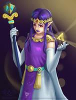 Hilda [Legend of Zelda: A Link Between Worlds] by DarkPhazonElite