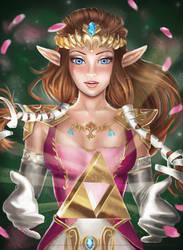 Zelda Study [MadeleineInk] by DarkPhazonElite