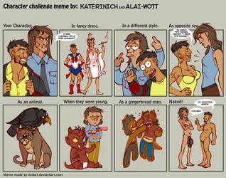 Character Challenge by Katerinich