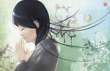 Pray by huachui